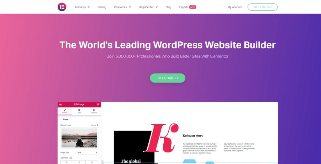 Wordpress-plugins-elementor