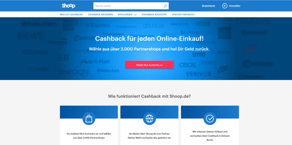 Shoop-cashaback-app
