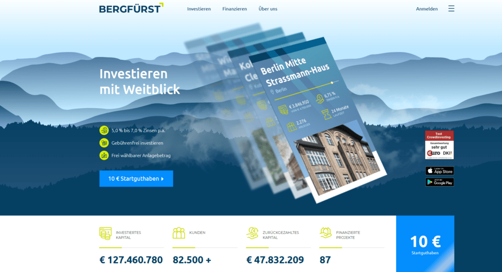 Crowdfunding-Plattformen-Bergfuerst