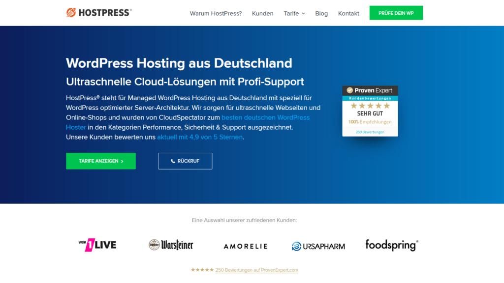 Webhosting-vergleich-Hostpress