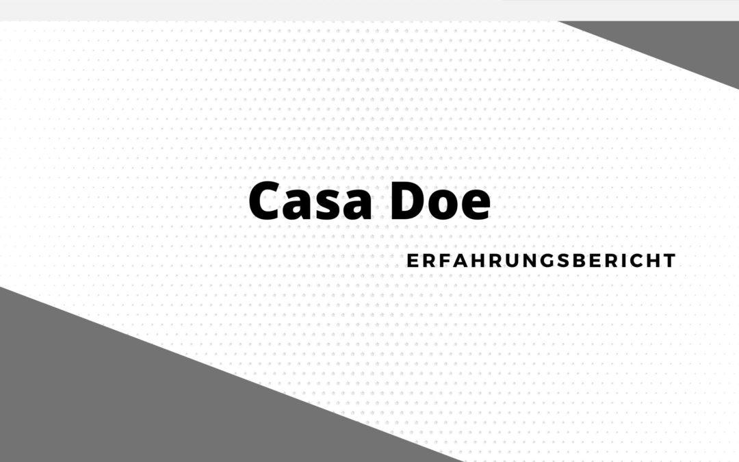 Casa Doe Erfahrungen: Sollte man sich Registrieren?