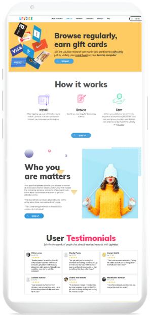 Upvoice-Mobile-Datenerfassung