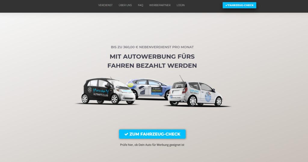 moneycar-autowerbung